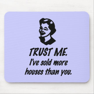 Trust Me - female Mouse Pad