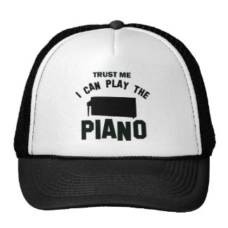 Trust me I can play the PIANO Trucker Hat