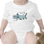 Trust Me..I Don't Bite Shark Baby Bodysuits
