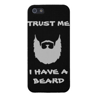 Trust me i have a beard cool funny humor facial ha iPhone 5 covers