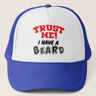 Trust me I have a beard, funny men's hat