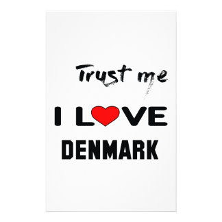Trust me I love Denmark. Stationery