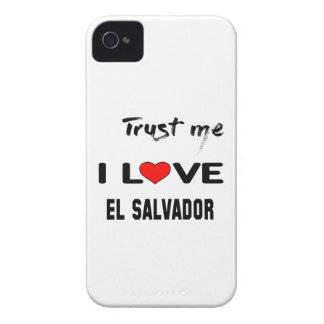 Trust me I love El Salvador. Case-Mate iPhone 4 Case