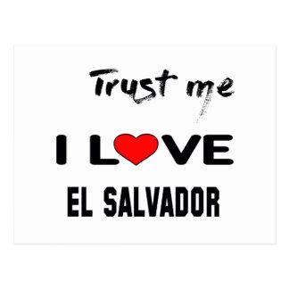 Trust me I love El Salvador. Postcard