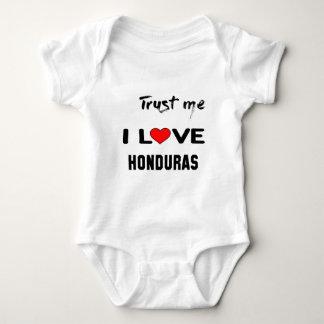 Trust me I love Honduras. Baby Bodysuit
