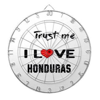 Trust me I love Honduras. Dartboard