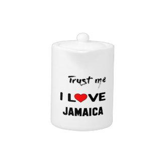 Trust me I love Jamaica. Teapot