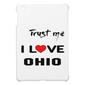 Trust me I love OHIO. iPad Mini Cover