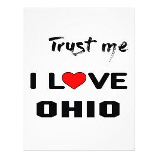 Trust me I love OHIO. Letterhead