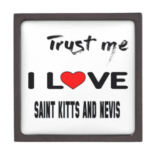 Trust me I love Saint Kitts and Nevis. Gift Box