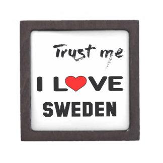 Trust me I love Sweden. Gift Box