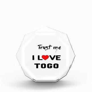 Trust me I love Togo. Award