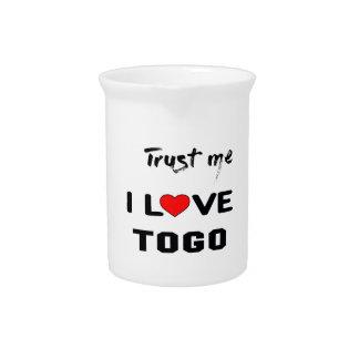 Trust me I love Togo. Beverage Pitcher