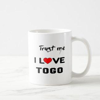 Trust me I love Togo. Coffee Mug