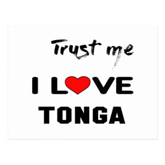 Trust me I love Tonga. Postcard