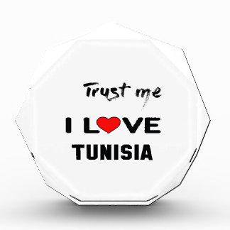 Trust me I love Tunisia. Award