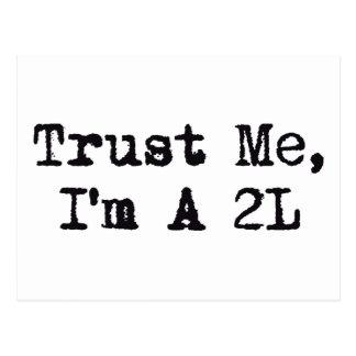 Trust Me I m A 2L Postcards