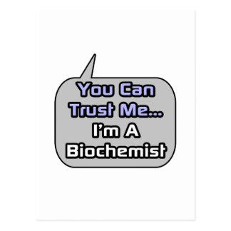 Trust Me I m a Biochemist Postcards