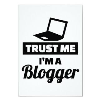 Trust me I'm a blogger Card