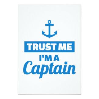 Trust me I'm a captain Card