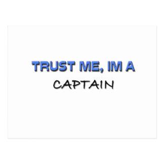 Trust Me I m a Captain Postcards