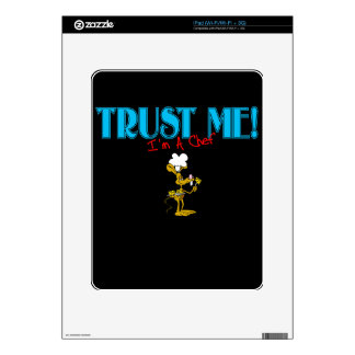 Trust Me I m A Chef Mouse graphic Decals For iPad