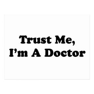 Trust Me I m A Doctor Postcard