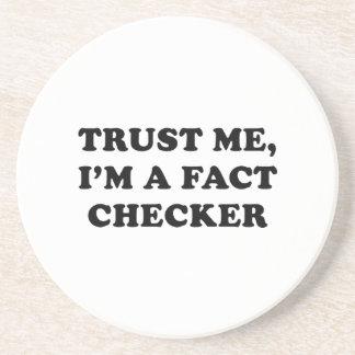 Trust Me, I'm A Fact Checker Coaster