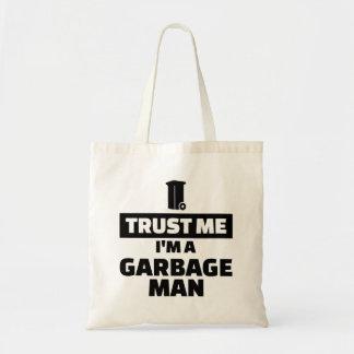 Trust me I'm a garbage man Tote Bag