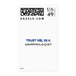 Trust Me I m a Graphologist Postage