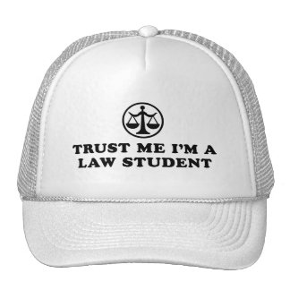 Trust Me I m A Law Student Hats