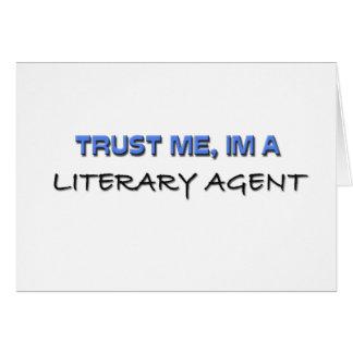 Trust Me I m a Literary Agent Card