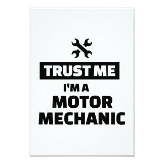 Trust me I'm a motor mechanic Card