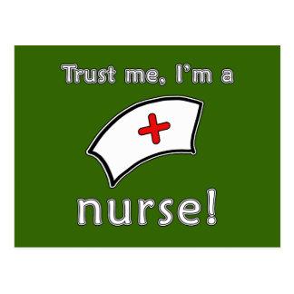 Trust Me I m a Nurse T shirts Hoodies Caps Post Cards