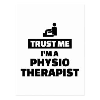 Trust me I'm a physiotherapist Postcard