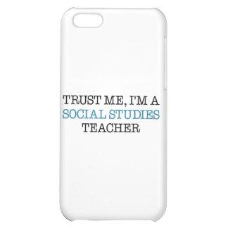 "Trust Me, I""m A Social Studies Teacher iPhone 5C Covers"