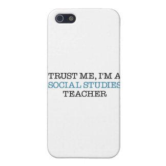 "Trust Me, I""m A Social Studies Teacher iPhone 5 Case"