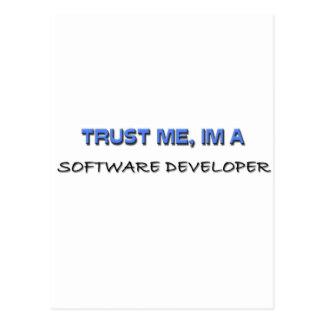 Trust Me I m a Software Developer Post Card