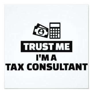 Trust me I'm a tax consultant Card