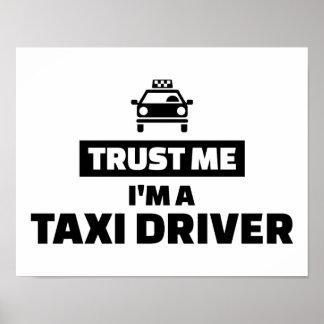 Trust me I'm a taxi driver Poster
