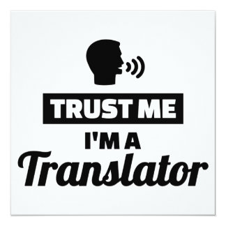 Trust me I'm a translator Card