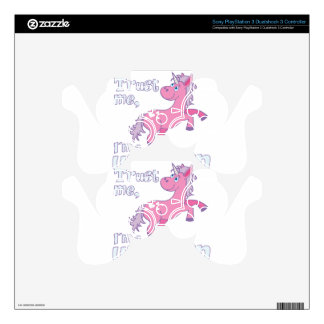 trust me i´m a unicorn skins for PS3 controllers
