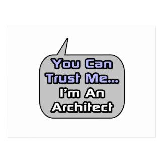 Trust Me I m an Architect Postcards