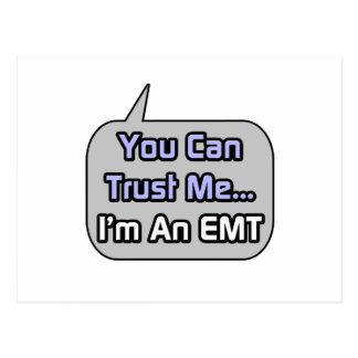 Trust Me I m an EMT Post Cards