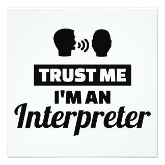 Trust me I'm an Interpreter Card