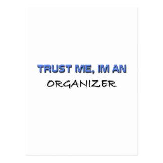 Trust Me I m an Organizer Post Cards