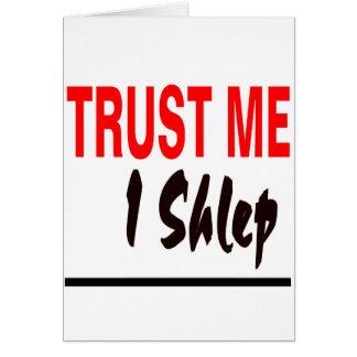 Trust Me I Shlep Card