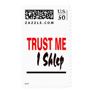 Trust Me I Shlep Postage
