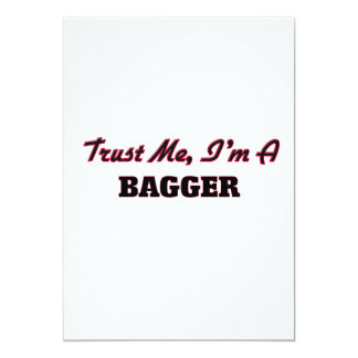 Trust me I'm a Bagger 5x7 Paper Invitation Card