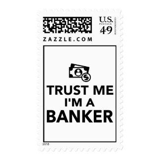Trust me I'm a Banker Postage